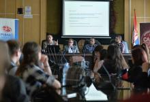 Round table Internet domain name system in Serbia, Faculty of Law, Niš, 10.04.2019. photo: Vanja Keser