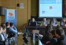 Okrugli sto o sistemu naziva internet domena u Srbiji, Pravni fakultet Univerziteta u Nišu, Niš, 10.04.2019. foto Vanja Keser