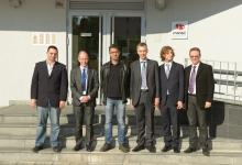 Representatives of ICANN visiting RNIDS, 21/11/2013
