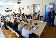 Working breakfast with Serbian association of managers (SAM), 23/03/2017