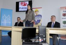 RNIDS i UNICEF donirali računare, 14. 12. 2011.