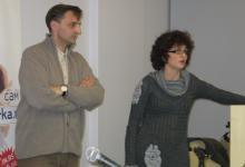 Predavanje: Kreiranje internet kurseva namenjenih permanentnom učenju na daljinu, 1. 12. 2011.