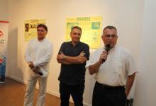 """Izložba """"Teslina vizija Interneta"""", galerija """"O3on"""", 9. 07. 2012."""